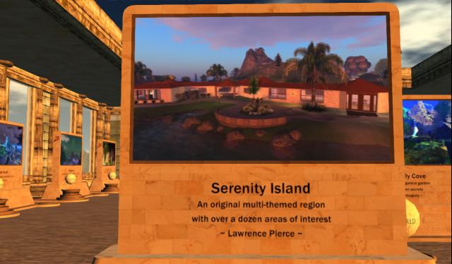 "Lawrence Pierce's ""Serenity Island"""