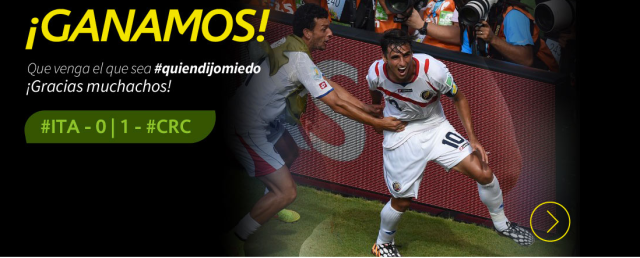 We Won! Come What May! Thank you boys!
