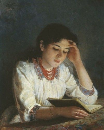 woman-reading-a-book-painting-artwork