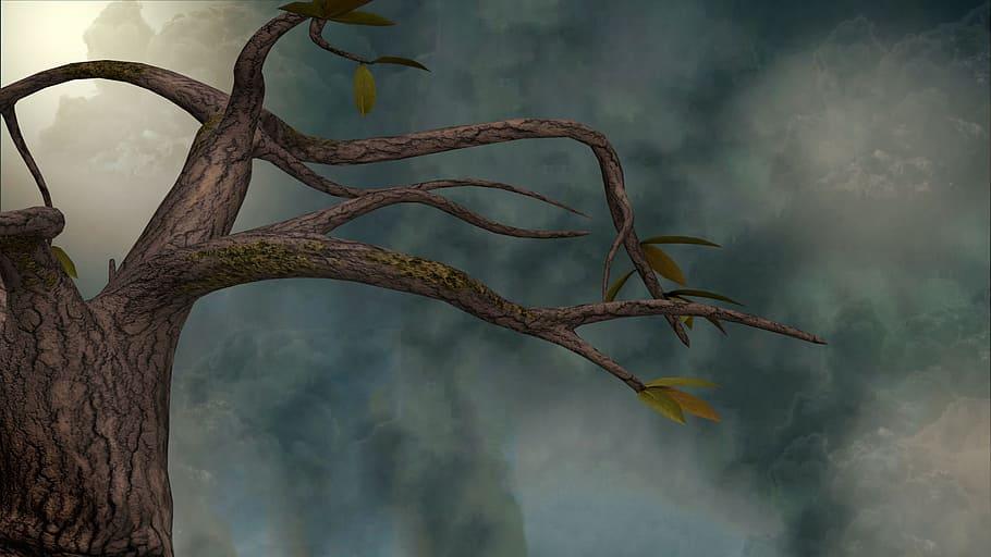tree-branches-3drender-scene